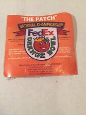 """""""The Patch """" Orange Bowl Jersey Patch New 4""""X5"""""""