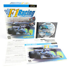 F1 Racing Simulation for PC CD-ROM in Big Box by Ubi Soft, 1997, VGC, CIB