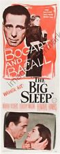 Big Sleep The Movie Poster Insert #01 Replica