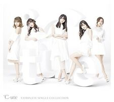 C-ute Cute COMPLETE SINGLE COLLECTION First Limited Edition B CD Blu-ray Japan