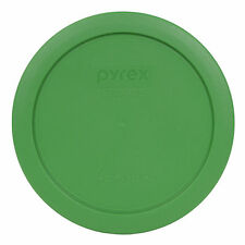 "Pyrex 7201-PC 6"" Clover Green Plastic Storage Cover Lid New for 4 Cup Glass Bowl"