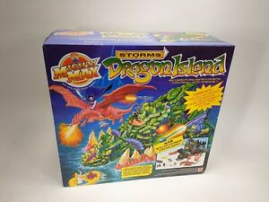 Mighty Max Storms Dragon Island New In Box SEALED 1994 Bluebird Toys Mattel