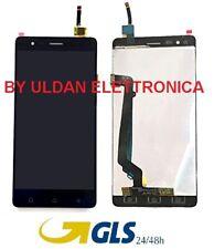 TOUCH SCREEN VETRO + LCD DISPLAY ASSEMBLATI PER LENOVO VIBE K5 NOTE NERO