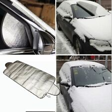 Silver Portable Car Windshield Anti Snow Frost Ice Dust Shield Sun Shade Cover