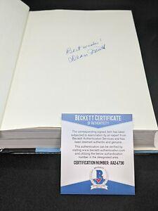 "UNC DEAN SMITH signed autographed ""A COACH'S LIFE"" 1st ED BOOK BECKETT COA (BAS)"