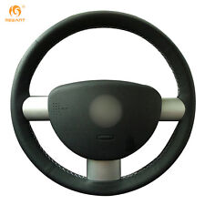 Black Artificial Leather Steering Wheel Cover for Volkswagen VW Beetle 2003-2010
