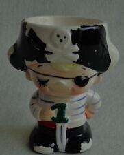 vintage RUNE NAITO JAPAN PIRAAT PIRATE eierdop H8cm egg cup Eierbecher coquetier