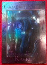GAME OF THRONES - THREE-EYED RAVEN - Season 4 - FOIL PARALLEL Card #100