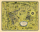 Vintage+Pictorial+Map+Tucson+and+vicinity+Wall+Art+Poster+Print+11%22x14%22+History