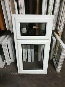 White Upvc Window 630 X 1185 (W0223)