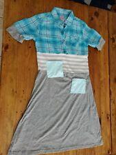 Boutique dress Girls 7-8  Maxi Comfortable Plaid Knit Origional New