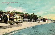 Milford,Connecticut,Myrtle Beach,Used,Flag Cancel,1913