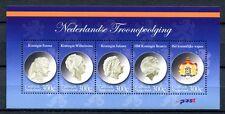 Karibische Niederlande 2012 Block Königinnen Wappen Queens Coat of Arms MNH