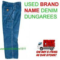 Work Pants Denim Work Dungarees Used Cintas, RedKap, Unifirst, Dickies,