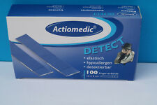 100 x Fingerpflaster 12x2 detectable Pflaster blau Gastronomie Hygiene HACCP