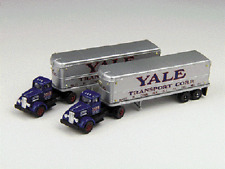 Classic Metal Works # 51136 32'Tractor/Trailer White WC22 Yale Transport N M MIB