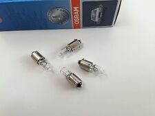 4 x OSRAM LAMPADINA 12v 5 W h5w ba9s alogena 64111 ILLUMINAZIONE INTERNA LUCE LETTURA