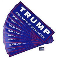 10 Trump Make America Great Again Car Bumper Sticker For Presidential Candidates