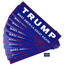10 Trump Make America Great Again Car Bumper Sticker For Presidential Candidates