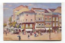Pernambuco, Brazil - Ruas 1 de Marco e Duque de Caxias - old Tuck postcard