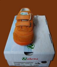NEU süß Super Schuh NATURINO Klett Sneaker Gr.24 flexible Sohle&Fußbett NP81,-