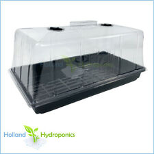 7 INCH CLEAR DOME + WATER TRAY Hydroponics Propagation Seedling/Cloning