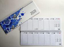 Gelb Spiralkalender A5 Kalender 2020