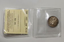 CANADA 25 CENTS 1957 ICCS CERTIFIED PL-65 B15 SCP4