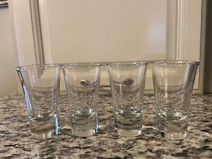 Vintage Quality Shot Glasses  Set of 4