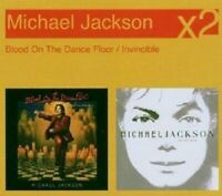 "MICHAEL JACKSON ""INVINCIBLE/BLOOD ON THE ..."" 2 CD NEU!"