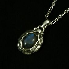 Georg Jensen Sterling Silver Pendant of the Year 1997 with Labradorite