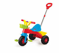 Kids My First Trike Boys Girls Ride On Bike Parent Push Handle Along Tricycle