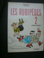 """LES RUBIPEDES  2 """" chaud devant """"   Iturria   / Comic Strips in French 1982"""