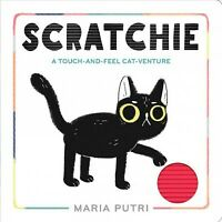 Scratchie : A Touch-and-Feel Cat-Venture, Hardcover by Putri, Maria, Like New...