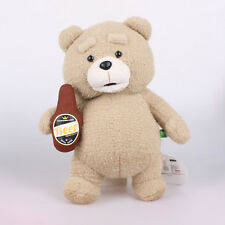 """Licensed 13"""" 33Cm Naked Ted 2 Movie Teddy Bear Beer Plush Toys Soft Stuffed Doll"""