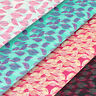 Cotton Fabric Fat Quarters Bird Feather Floral Tree Leaf Leaves FabricTime VS25