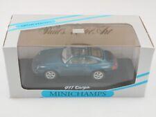 Minichamps 1/43 Porsche 911 Targa Coupe 1994 blaugrünmetallic mit Box 512760