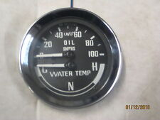 SMITHS NEW  DUAL OIL WATER GAUGE SMITHS CNH COLD NORMAL HOT MGB MIDGET SPRITE