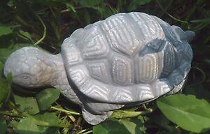 """Latex turtle mold plaster concrete mould  7""""L x 5"""" x 3""""H"""