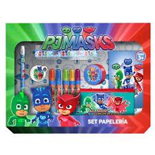 SET DE PAPELERIA PJ MASKS HEROES EN PIJAMAS Stationery Set 20 pieces PJ MASKS