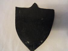 Antique German Trophy Plaque Black Forest Wood  #BS