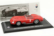Maserati 450 s #7 suède GP 1957 Behra, Moss 1:43 Leo Models