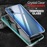 CLEAR Case For Samsung Galaxy A70 A50 A40 A20e A10 Cover Shockproof Silicone Gel