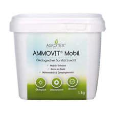 AMMOVIT Mobil 1 kg, ökologischer Sanitärzusatz, WC-Zusatz, Camping & Caravan