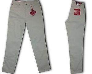 ✅Stooker Nizza Damen Stretch Jeans Hose  Beige