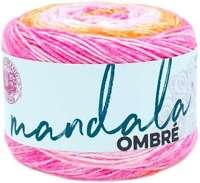 Lion Brand Mandala Ombre Yarn Serene 023032033563