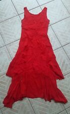 Stunning Rare Vtg boho Corset goth dress