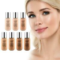 Foundation Soft Matte waterproof Long Wear Oil Control Cream Liquid Conceal O8L1
