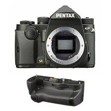 Pentax KP 24.32 MP DSLR Camera Body Only Black with D-BG7 Battery Grip