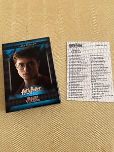 HARRY POTTER HEROES AND VILLAINS 2010 ARTBOX BASE CARD SET
